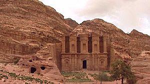Jordania, piedra viva