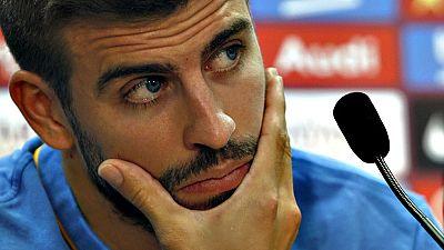 El jugador del FC Barcelona ha comparecido en rueda de prensa para aclarar la polémica que ha vivido durante la última concentración de la selección española.