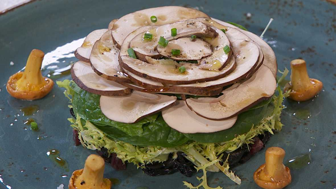 Receta de ensalada con huevo poch for Cocina hermanos torres