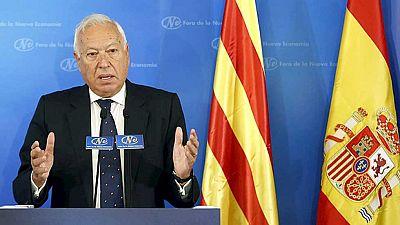 Margallo se muestra abierto a una reforma de la Constitución y ceder a Cataluña la gestión de casi todo el IRPF
