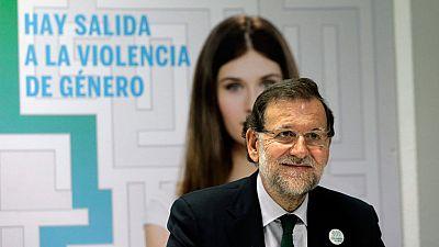 El presidente Rajoy anima a las víctimas a llamar al teléfono 016 contra el maltrato