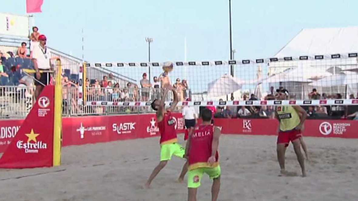 Voley playa - Madison Beach Voley Tour. Resumen Temporada 2015 - Ver ahora