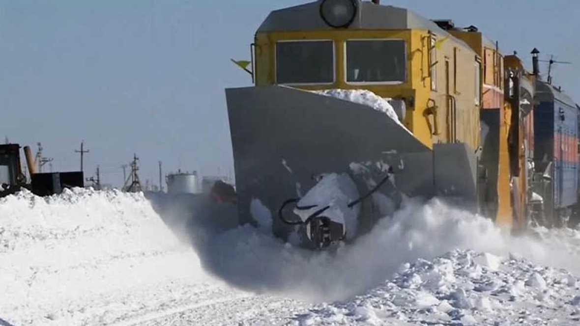 El documental - Trenes extremos: Los trenes de hielo de Siberia  - Ver ahora