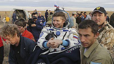 Regresa a la Tierra el astronauta que más tiempo ha pasado en el espacio