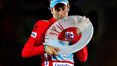 El italiano Fabio Aru (Astana) se ha proclamado vencedor de la 70 edición de la Vuelta a España una vez finalizada la vigésima primera y última etapa, entre Alcalá de Henares y Madrid, de 98,8 kilómetros, en la que se ha impuesto al esprint el alemán
