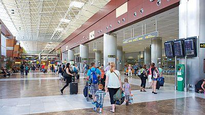 Los aeropuertos de Aena baten récord de pasajeros con más de 24 millones en agosto