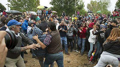 Enfrentamientos y protestas un año más en Tordesillas