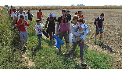 Croacia permitirá el paso de los refugiados en su nueva ruta para evitar Hungría