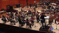 La Orquesta y Coro RTVE graba la banda sonora de 'Teresa'