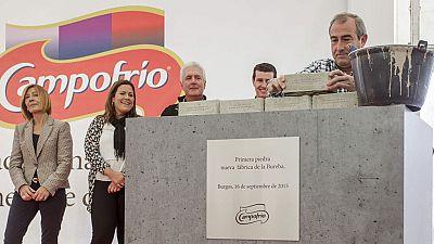 La nueva planta de Campofrío en Burgos estará lista en noviembre de 2016