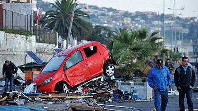 Un millón de evacuados en el terremoto de Chile, la alerta de tsunami ha sido desactivada