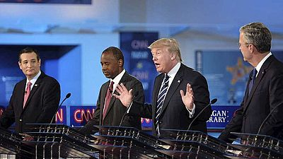 Segundo debate de los candidatos republicanos en la carrera presidencial de los Estados Unidos