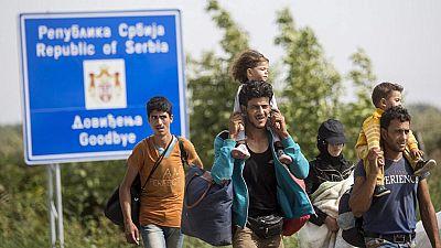 Croacia se declara desbordada frente a la avalancha de refugiados
