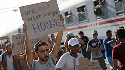 Croacia se convierte en el centro del paso de los refugiados