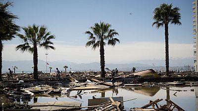 Aumentan a doce los muertos por terremoto en Chile, que deja 642 damnificados