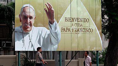 El papa inicia este sábado una histórica visita a Cuba y EE.UU.