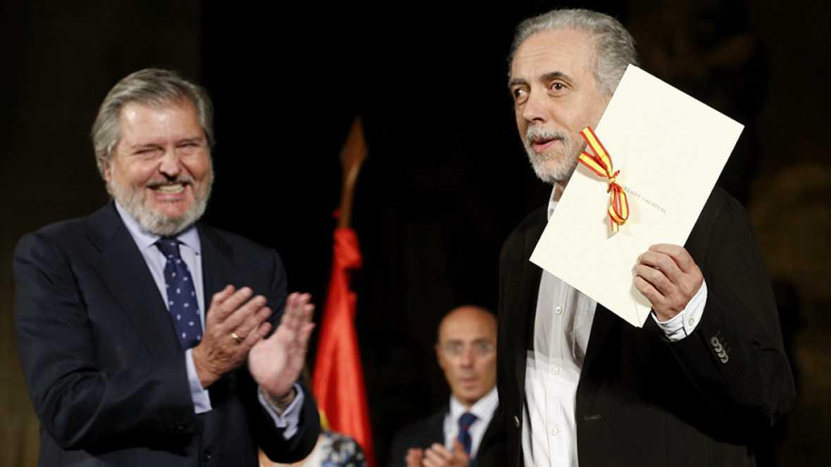 Fernando Trueba pronuncia un crítico discurso contra el poder político tras recibir el Premio Nacional de Cinematografía 2015