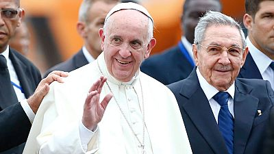 El papa inicia su viaje por Cuba y Estados Unidos