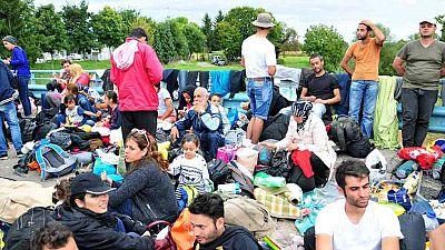 Los refugiados temen quedarse atrapados en la frontera con Serbia