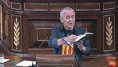 Parlamento - Conoce el parlamento - El gesto con la Constitución - 19/09/2015