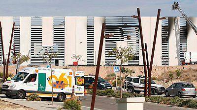 Un fallecido y cuatro heridos en una explosión en una empresa del parque tecnológico de Almería