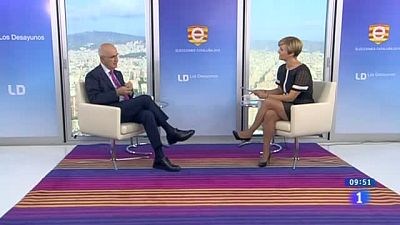 """Duran i Lleida, en Los Desayunos de TVE: """"El diálogo es la única solución, la única vía"""""""