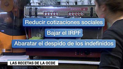 España no sale bien parada en el último informe de la OCDE sobre empleo y educación