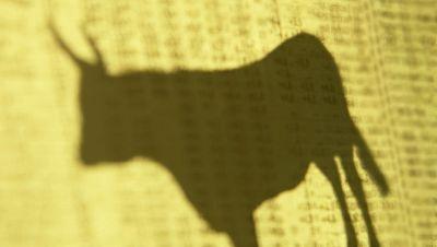 Una vaquilla entra por la puerta y sube a un piso de Algemes�