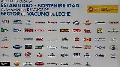Ganaderos, industria láctea y distribuidores llegan a un acuerdo propuesto por Agricultura
