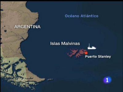 Dos españoles detenidos en Malvinas