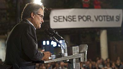 """Mas: """"Las armas de destrucción que se usan en Madrid no destruirán nuestro sueño"""""""