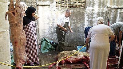 Más de 1,8 millones de musulmanes en España celebran la fiesta del sacrificio del cordero