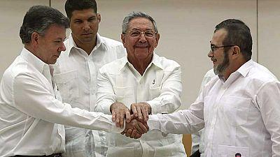 Colombia y las FARC se dan seis meses de plazo para sellar el fin del conflicto armado
