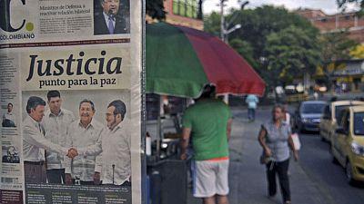 Reacciones variadas en Colombia al acuerdo entre las FARC y el Gobierno
