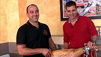 Sergio Fern�ndez nos ense�a los secretos del jam�n de ib�rico de Guijuelo