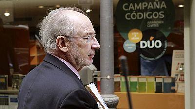Un juzgado ordena el embargo de bienes por valor de 18 millones a Rato, incluida su pensión del FMI