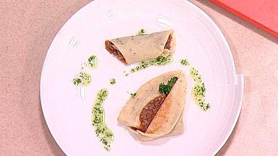 Cocina con Sergio - Crepes rellenos - Ver ahora