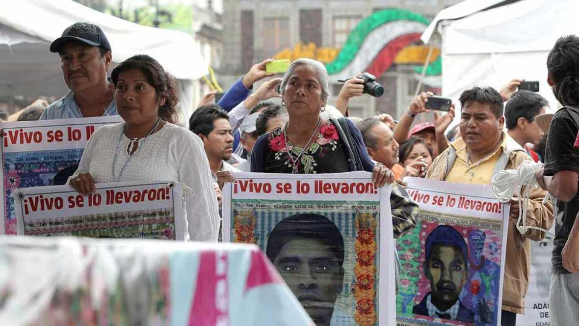 Se cumple un año de la desaparición de los 43 estudiantes en México