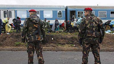 Croacia y Serbia ya han desbloqueado dos de sus pasos fronterizos