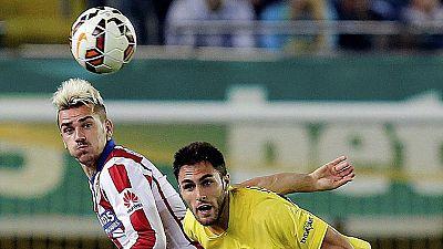 El Atlético visita a un invicto pero mermado Villarreal