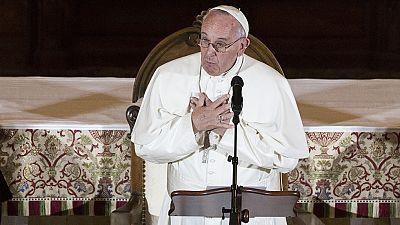 El papa se reúne con víctimas de abusos sexuales cometidos por miembros de la Iglesia