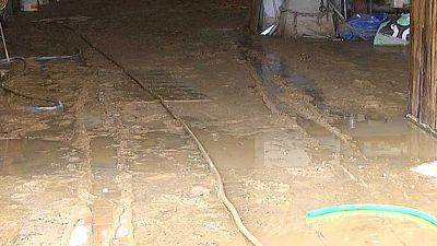 Lluvias intensas causan inundaciones en Murcia