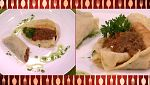 Cocina con Sergio - Receta de crepes rellenos a la boloñesa