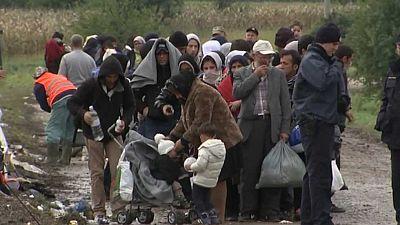 De los refugiados que llegan a Croacia los afganos son de los más numerosos