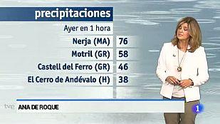El tiempo en Andalucía - 30/09/2015