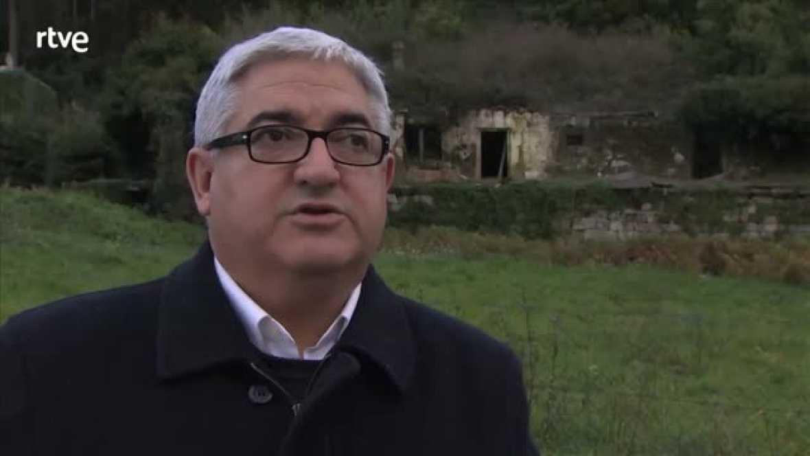 José Luis Sobrado Pérez, cronista de Carballiño, una comarca que sufrió la emigración masiva.