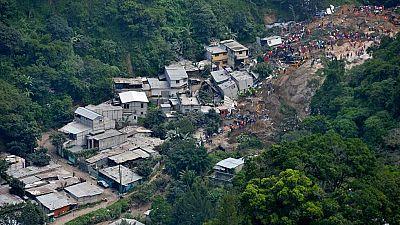 Un deslizamiento de tierra en Guatemala sepulta una aldea y deja al menos 30 muertos