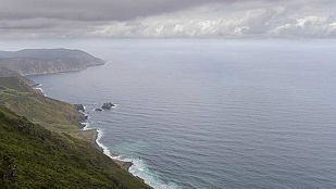 Precipitaciones fuertes en Galicia y el oeste del Sistema Central
