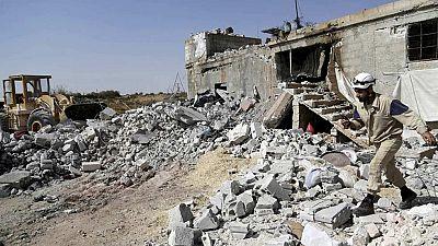 Bombardeos rusos en Siria dejan varios civiles muertos según el Observatorio Sirio de DD. HH.
