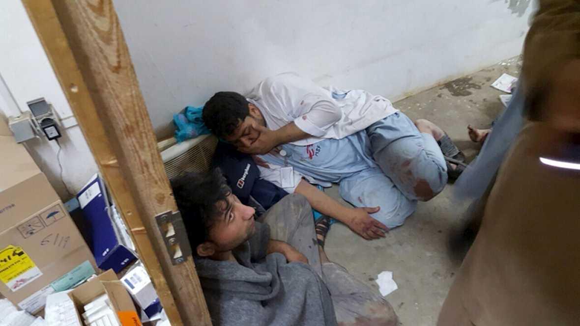 La poblaci�n de Kunduz huye tras el bombardeo y clama contra el presidente afgano